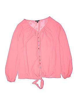 Sami & JO Long Sleeve Blouse Size 2X (Plus)