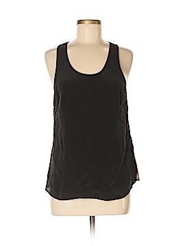 Mauve Sleeveless Silk Top Size 8