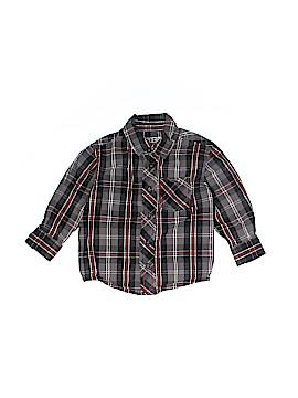 Sprockets Long Sleeve Button-Down Shirt Size 18 mo