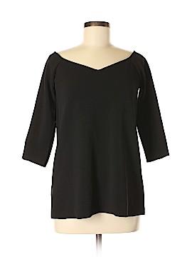 Uniform 3/4 Sleeve Top Size M