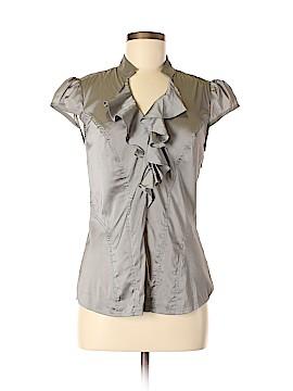 Express Design Studio Short Sleeve Blouse Size M