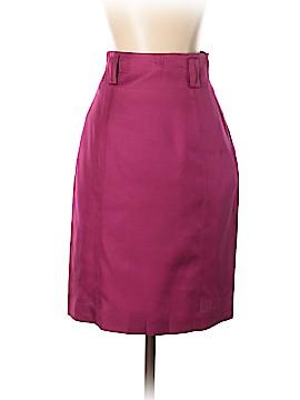 Linda Allard Ellen Tracy Silk Skirt Size S (Petite)