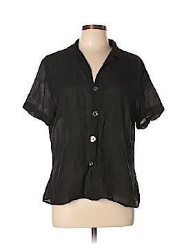 CP Shades Short Sleeve Button-Down Shirt Size L