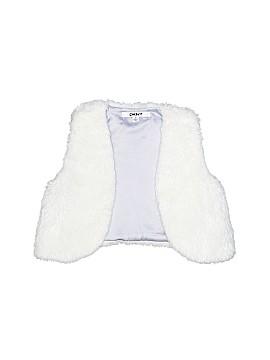 DKNY Faux Fur Vest Size 5