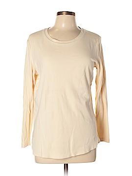 Isaac Mizrahi Long Sleeve T-Shirt Size M