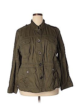 SONOMA life + style Denim Jacket Size 3X (Plus)