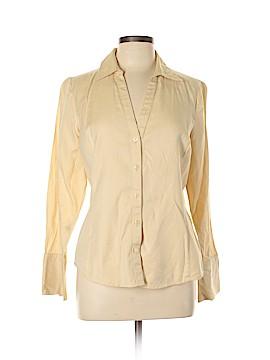 Ann Taylor Long Sleeve Button-Down Shirt Size 10