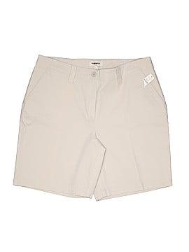 Talbots Khaki Shorts Size 14W