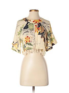 Oasap Short Sleeve Blouse Size XL