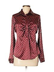 New York & Company Women Long Sleeve Blouse Size S
