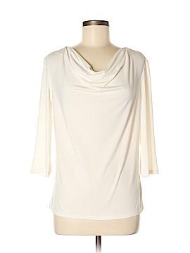 Ellen Tracy 3/4 Sleeve Top Size M