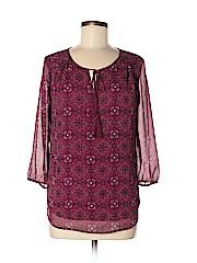 St. John's Bay Women 3/4 Sleeve Blouse Size M
