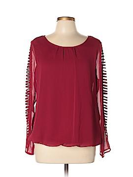 B-Design Long Sleeve Blouse Size L