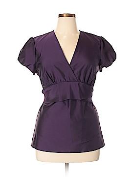 Ann Taylor LOFT Outlet Short Sleeve Blouse Size 16