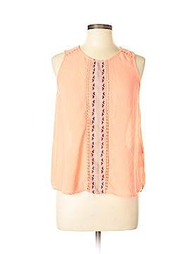 Tinley Sleeveless Silk Top Size L