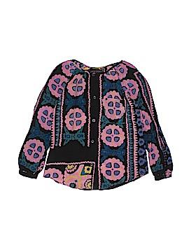 Antik Batik Long Sleeve Blouse Size 10