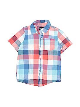 OshKosh B'gosh Short Sleeve Button-Down Shirt Size 6