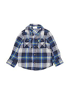 Crazy 8 Long Sleeve Button-Down Shirt Size 18-24 mo