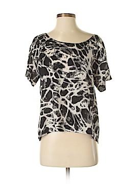 Kensie Short Sleeve Blouse Size S