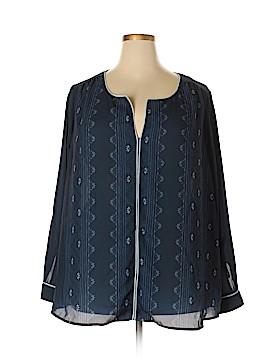 ModCloth Long Sleeve Blouse Size 3X (Plus)