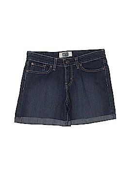 Signature Denim Shorts Size 6