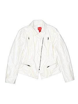 V Cristina Faux Leather Jacket Size M