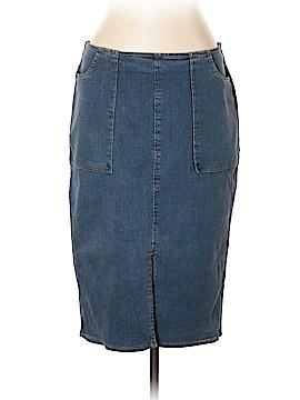 Who What Wear Denim Skirt Size 12