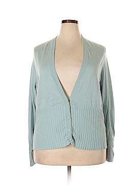 Ellen Tracy Silk Cardigan Size 3X (Plus)