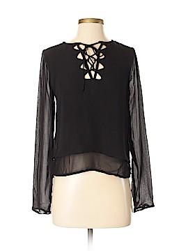 Miss Selfridge Long Sleeve Blouse Size 0