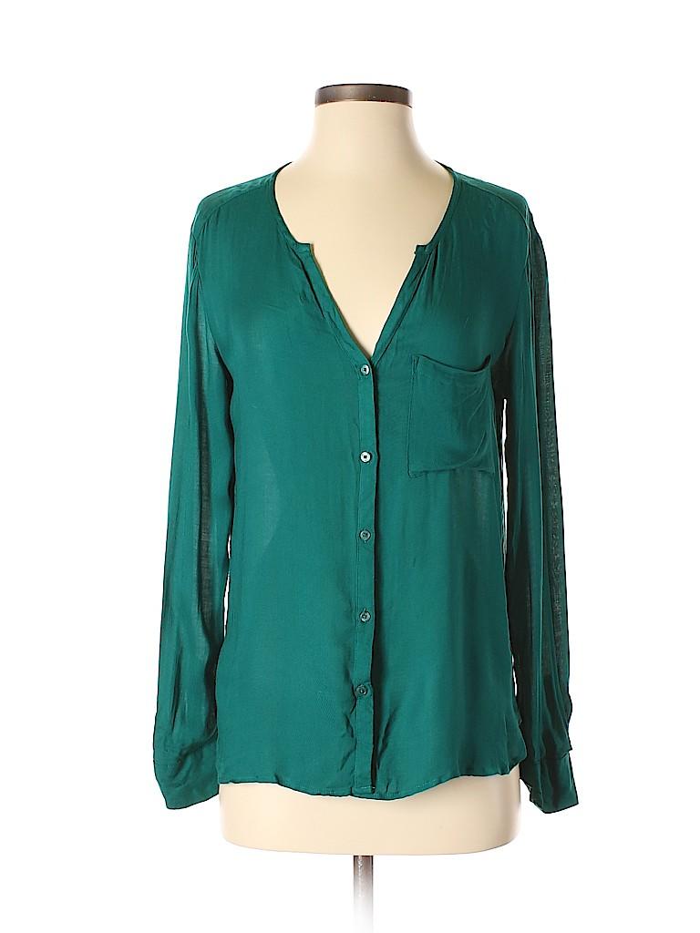 MNG Basics Women Long Sleeve Blouse Size XS