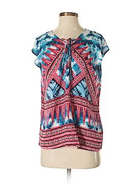 Vintage America Blues Short Sleeve Blouse Size S