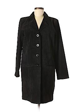 Dialogue Leather Jacket Size M