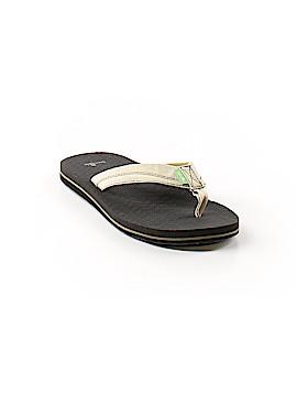 Sanuk Flip Flops Size 4 - 5