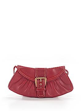 Céline Leather Shoulder Bag One Size
