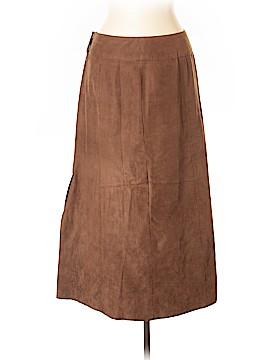 Norton McNaughton Leather Skirt Size 10