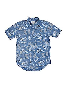 The Children's Place Short Sleeve Button-Down Shirt Size 14