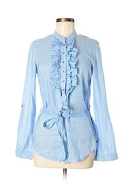 Massimo Dutti Long Sleeve Button-Down Shirt Size 40 (EU)