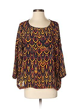 M Missoni 3/4 Sleeve Silk Top Size M