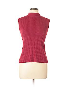 Liz Claiborne Sleeveless Silk Top Size L