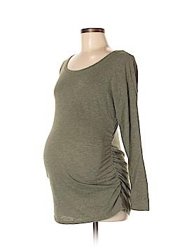 Liz Lange Maternity Long Sleeve T-Shirt Size M (Maternity)
