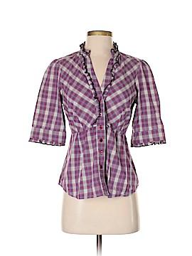 Edme & Esyllte 3/4 Sleeve Button-Down Shirt Size 6