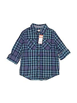 Cat & Jack Long Sleeve Button-Down Shirt Size 6/7