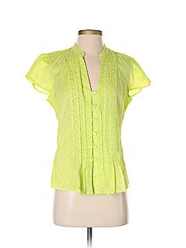 Banana Republic Factory Store Short Sleeve Button-Down Shirt Size M