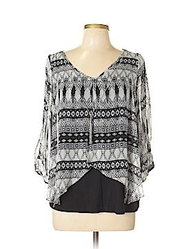 A. Byer Long Sleeve Blouse Size XL