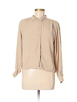 Jones New York Long Sleeve Blouse Size 6 (Petite)