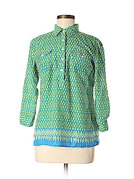 C. Wonder 3/4 Sleeve Button-Down Shirt Size M