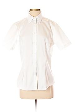 Van Heusen Short Sleeve Button-Down Shirt Size 8 - 10