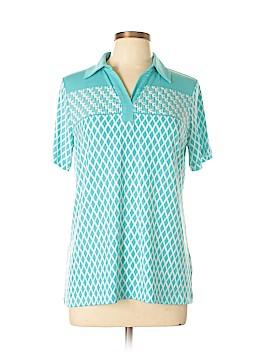 Susan Graver Short Sleeve Polo Size S