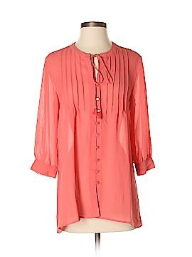 G by Giuliana Rancic 3/4 Sleeve Blouse Size S