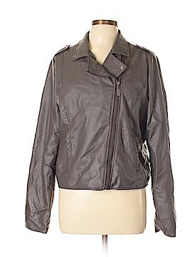 Arizona Jean Company Faux Leather Jacket Size XL